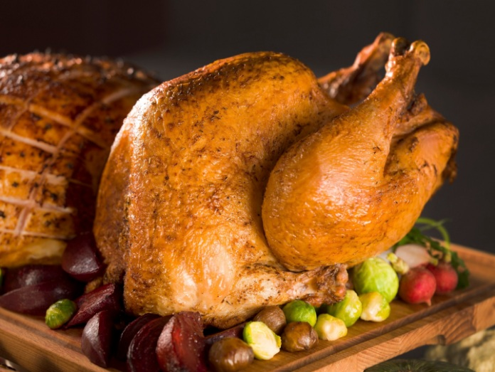 Festive turkey available for takeaway at Grand Orbit restaurant