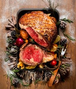 聖誕特別菜式-聖誕烤牛肉