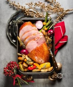 聖誕特別菜式-烤火腿