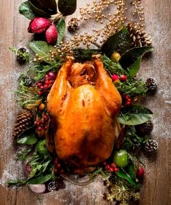 聖誕特別菜式-烤火雞
